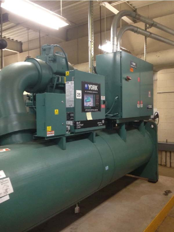 Industrial 650 Ton Variable Speed Chiller