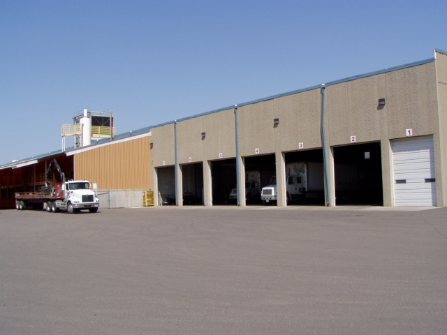 Chemical Manufacturing Facility Loading Dock