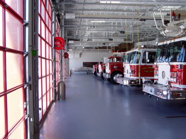 Fire Station Apparatus Bay